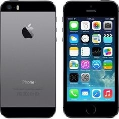 IPhone 5s 16GB Zwart