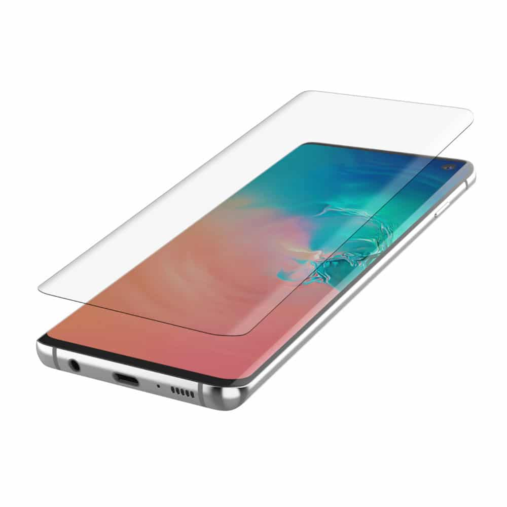 Hoesjes Samsung Galaxy S10 Plus Curved Glas Full Screen Protector